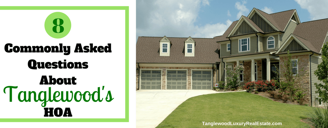 Get To Know Tanglewood Homes Association: 8 Commonly Asked Questions About Tanglewood's HOA