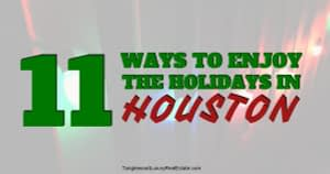 Things To Do In Houston Over The Holidays