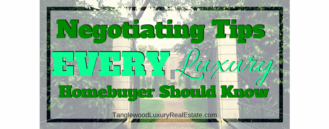 Negotiating Tips For Houston Luxury Homebuyers