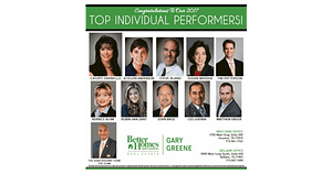 BHGRE Gary Greene 2017 Top Performers - Facebook